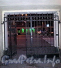 Ул. Константина Заслонова, д. 20. Решетка ворот. Фото октябрь 2009 г.