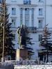 Памятник А.М. Горькому на пересечении Каменноостровского и Кронверкского проспектов. Фото март 2004 г.