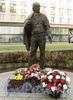 Памятник Г.А. Товстоногову в сквере Товстоногова. Фото октябрь 2010 г.