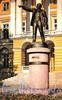 Памятник В. И. Ленину у Смольного. Фото Б. Круцко, 1970 г.