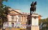 Памятник Петру I у Михайловского (Инженерного) замка. Фото Б. Круцко, 1970 г.
