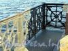 Памятник И. Ф. Крузенштерну на набережной Лейтенанта Шмидта. Фрагмент ограды. Фото июнь 2011 г.