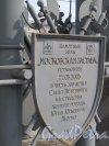 Памятный знак «Московская Застава» на площади Московских  ворот. Фото май 2013 года.