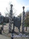 """Памятный знак """"Московская Застава"""" на площади Московских ворот. 2005"""