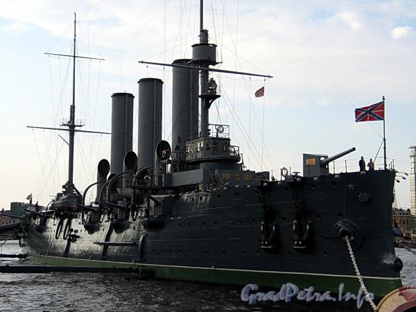 Крейсер «Аврора». Фото июль 2011 г.