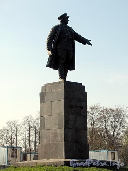 Памятник С. М. Кирову в Приморском парке Победы. Фото май 2011 г.