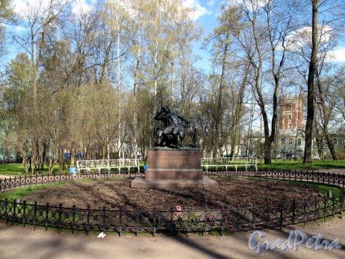 Садовая ул. (Пушкин), д. 2 А. Памятник Пушкину в Лицейском Садике.