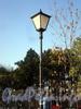 Фонарь Сангальского сада. Фото октябрь 2009 г.