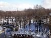 Вид на Михайловский сад от канала Грибоедова. Фото март 2010 г.