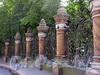 Ограда Михайловского сада со стороны канала Грибоедова. Фото август 2004 г.