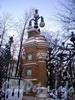 Фрагмент ограды Михайловского сада. Фото декабрь 2009 г.