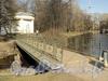 Мост через протоку в Лопухинском саду. Фото апрель 2011 г.