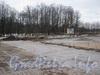 Реставрация дорожного покрытия в парке. Фото март 2012 г. со стороны Московского пр.