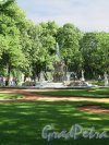 Летний сад. Фонтан «Коронный». Фрагмент. Фото июнь 2012 г.
