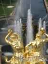 Нижний парк (Петергоф). Большой Каскад. Статуи Тритонов. Фото август 2010 г.