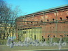 Ограда Музея Артиллерии со стороны Кронверкской набережной.