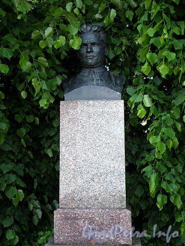 Памятник С.М. Кирову на Елагином острове. Фото июнь 2009 г.