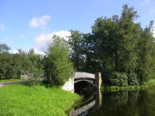 Розовопавильонные пруды. Олений мост. Фото 5 сентября 2003
