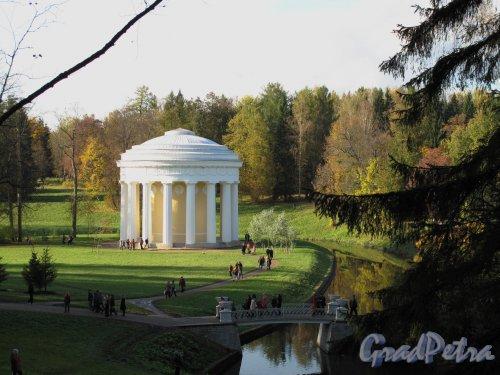 парк Павловский. Храм Дружбы. Фото октябрь 2009 г