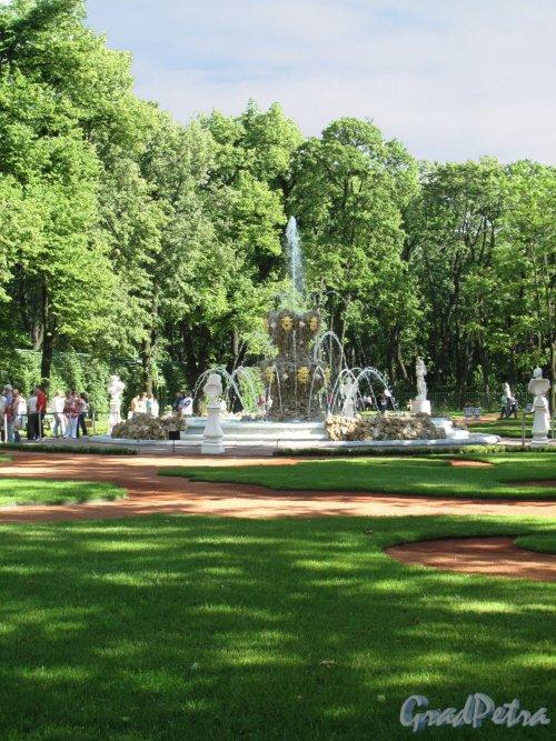 "Летний сад. Фонтан ""Коронный"". Фрагмент. Фото июнь 2012 г."