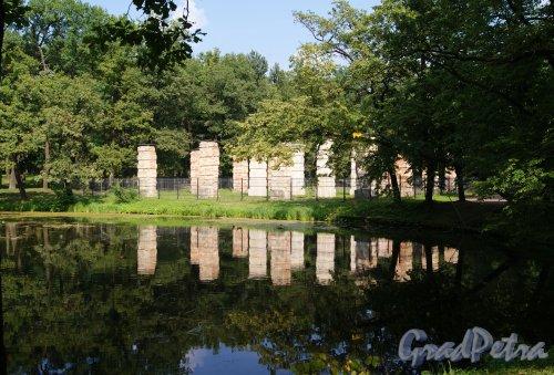 Гатчинский (Дворцовый) парк. Адмиралтейство в существующем состоянии. фото август 2013 г.