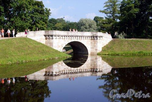 Гатчинский (Дворцовый) парк. Карпин мост. фото август 2013 г.