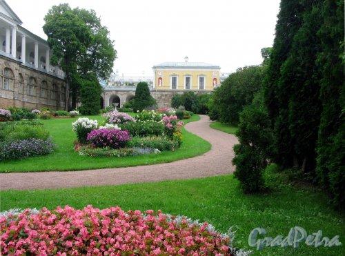 Екатерининский парк (г. Пушкин). Агатовые комнаты,  Пандус и Камеронова галерея. Фото август 2005 г.
