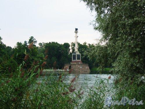 Екатерининский парк (г. Пушкин). Чесменская колонна. Фото август 2005 г.
