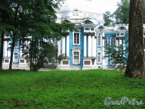 Екатерининский парк (г. Пушкин). Павильон Эрмитаж. Фото август 2005 г.