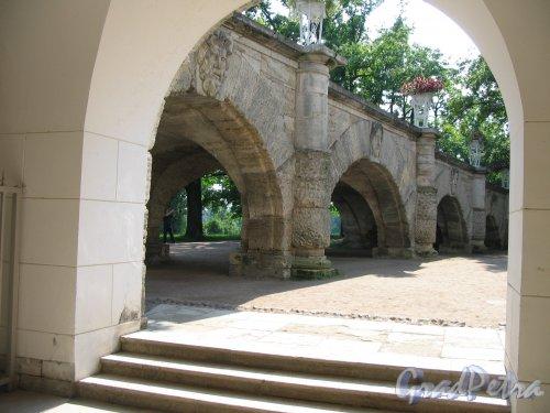 Екатерининский парк (г. Пушкин). Вид на Пандус. Фото август 2005 г.