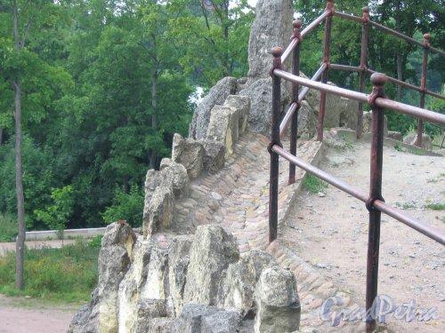 Екатерининский парк (г. Пушкин). Большой Каприз. Верхняя площадка. Фото август 2005 г.