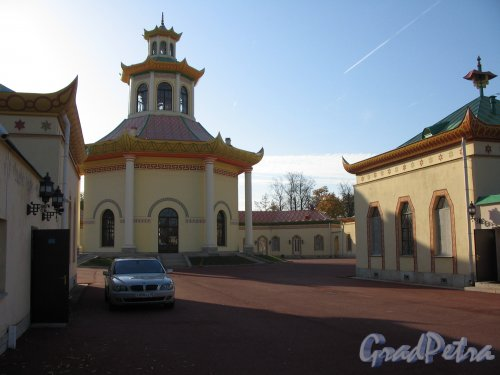 г. Пушкин, Александровский парк. Китайская деревня. фото сентябрь 2007 г.