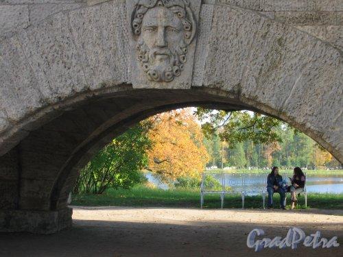 Екатерининский парк (г. Пушкин). Пандус. Фото сентябрь 2007 г.