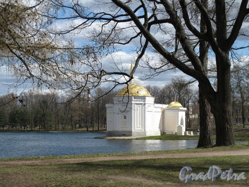 "Екатерининский парк (г. Пушкин). Павильон ""Турецкая Баня"". Фото май 2012 г."