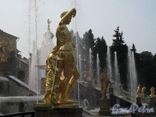 Нижний парк (Петергоф). Большой Каскад. Фото август 2010 г.