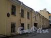 Финляндский пер., д. 4. Бывший дом А. П. Брюллова. Фасад здания. Фото октябрь 2009 г.