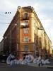 Пер. Гривцова, д. 11 / наб. канала Грибоедова, дд. 50, 52, 54. Доходный дом Н. В. Безобразовой. Общий вид здания. Фото октябрь 2009 г.