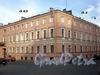 Кокушкин пер., д. 2 / наб. канала Грибоедова, д. 62. Дом Н. Семенова. Фрагмент фасадов здания по набережной и переулку. Фото август 2009 г.