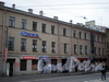 Пер. Гривцова, д. 20. Фасад здания. Фото октябрь 2009 г.