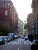 Перспектива Графского переулка от Владимирского проспекта в сторону улицы Рубинштейна.