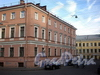 Кокушкин пер., д. 2 / наб. канала Грибоедова, д. 62. Дом Н. Семенова. Фасад по переулку. Фото август 2009 г.