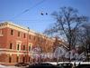 Лазаретный пер., д. 2. Главное здание госпиталя Семеновского полка. Фасад здания. Фото февраль 2010 г.