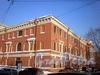 Лазаретный пер., д. 2. Главное здание госпиталя Семеновского полка. Общий вид здания. Фото февраль 2010 г.