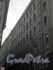 Мал. Казачий, пер., д. 1 / наб. реки Фонтанки, д. 96. Доходный дом Н. Ф. Целибеева. Фрагмент фасада по переулку. Фото февраль 2010 г.