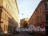 Перспектива Остропольского переулка от улицы Константина Заслонова в сторону Лиговского проспекта. Фото сентябрь 2009 г.