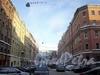 Перспектива Углового переулка к Московскому проспекту. Фото февраль 2010 г.