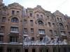 Угловой пер., д. 4. Доходный дом Н. И. Львовой. Фрагмент фасада здания. Фото февраль 2010 г.