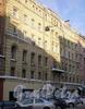 Угловой пер., д. 5. Доходный дом Н. И. Львовой. Фасад здания. Фото февраль 2010 г.