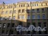 Угловой пер., д. 5. Доходный дом Н. И. Львовой. Фрагмент фасада здания. Фото февраль 2010 г.