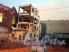 Ковенский пер., д. 5. Расчистка территории под новое строительство. Фото октябрь 2009 г.